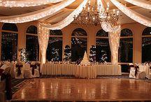 Wedding lighting intoor
