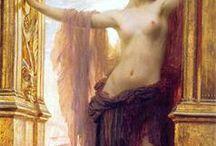 Pre Raphaelites, Inspirational Art.