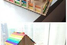 Eis Am Stiel-stick Häuser