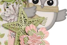 scrapbook owl
