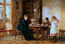 pintura Victoriana o romántica