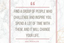 Quotes / Quotes from inspiring women we love!! :)