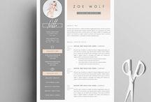 Resume / CV design