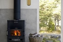woodstoves and fireplaces / by Janelle Geddes