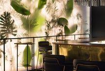 Cafés, bares y restaurantes