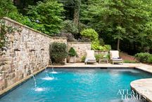 pool retainers/water features