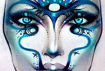"""Face charts / Mainly MAC but others on here too which are outstanding but not of MAC template... So changed the name from MAC face charts to """"Face charts""""... Enjoy x"""