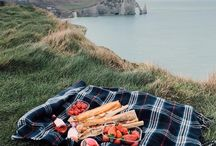 Picnic with him...