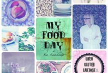 MY COOKBOOK // My Food Day // Rie Randrup / My new cookbook / Release on May 26 Healthy food without gluten, lactose and sugar Creative inspiation and recipes