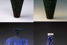 Korálková umělecká díla / Bead Artwork