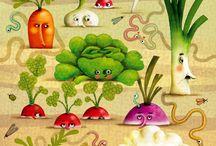 Καρτουν λαχανικά!!!