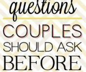 questions ask before marriage