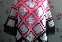 Crochet poncho's, shawls, wraps and vests / by Ayda ABC