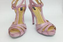 sandals with heel / sandals with heel.