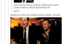 Benedict and Tom