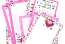 Joyful Jotters / Joyful Jotters - Lovely quality, full colour printed throughout. 52 Sheets.  Full of fun & perfectly practical!