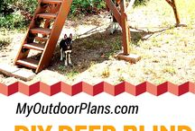 Deer blind build