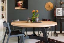 Interior - black & wood
