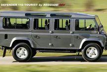 Land Rover busz