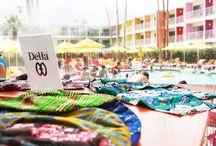 Della X Saguaro / Della's 4th of July Weekend Poolside Party | Summer 2013 / by Della