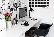 Interiors | Blog HQ / Ideas for our walk-in office. I'm going to make it Blog HQ