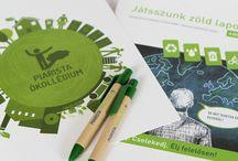 Piarista Ökollégium / logó és arculattervezés, webtervezés, grafikai tervezés és kivitelezés, PR és média tervezés, kommunikációs tanácsadás, gyártás, eseményszervezés