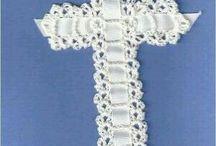 Chrochet cross.