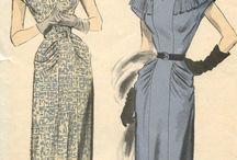 modelli  anni 40