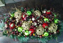 Cleusa crafts Natal / Minhas criações