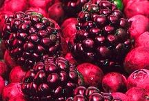 Fresh Fruits & Vegetables / by Stephanie Sterling