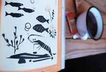 Book illustrations for 366 short stories