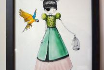 Affiches enfants illustrées Nélia / Affiches enfants  illustrées par Nélia