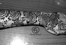 Mehndi designs / Menhdi designs made by me.