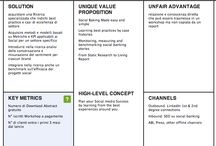 BMC / Raccolta di tools e articoli a proposito del Business Model Canvas