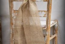 Burlap, cotton, jute, linen and rope