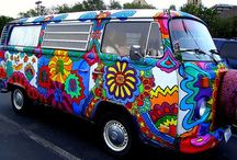 Hippie Motors / Funky Camper Vans & Cool Cars!