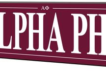 Sorority and Fraternity Signs / High End Solid Wood Greek Signs