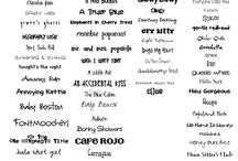 fonts and clipart / by Team Nielson's Newsstand !