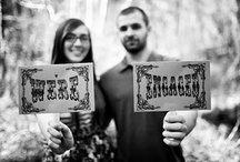 They're engaged photo ideas / by Kela