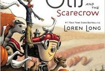"""""""Fall with Otis and the Scarecrow"""" / by Cristina Farias"""