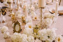Gold photoshoot / Shot at Botleys Mansion which I styled. Photography by Modern Vintage Weddings