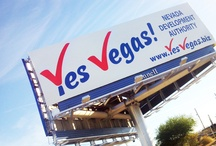 YES VEGAS! / Yiying Lu created the new YES VEGAS! identity & branding for the Nevada Development Authority, and WALLS 360 created an exclusive custom collection of re-positionable wall graphics + promotional badges for the campaign. http://blog.walls360.com/walls-360-yes-vegas/