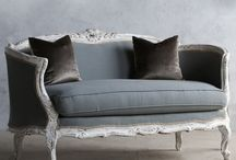 French antik sofas