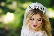 Hair, Makeup & accessories / Makeup, bridal hair pins, headbands, flowers for beach weddings plus hairstyles