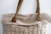 kötőt- horgolt táska