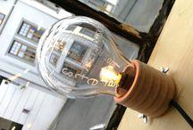 I make lamps