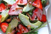 Saladas e Aperitivos