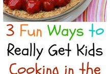 Cooking with kids and for kids / Recipes your children can help you make and recipes to make for children.   Recipes children will love to eat.