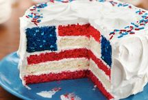Summer Celebration Sweets / Celebrate the USA with delicious desserts, perfect for Memorial Day, July 4th, and Labor Day.