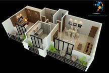 Home Interior & 3D Designs / We design home residency building corporate offices trunky offices showroom Bunglows   2 D Design 3 D Design   Design & Execute as per your requirement